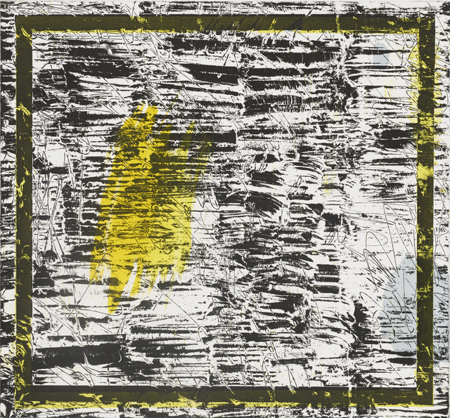 , 'Untitled (yellow),' 2016, Crown Point Press