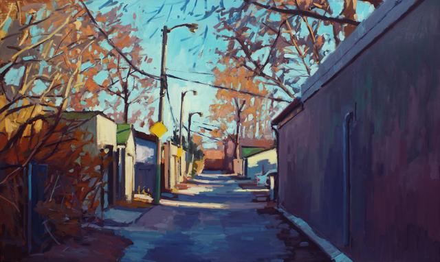 , 'Autumn Laneway, South Riverdale,' 2017, Abbozzo Gallery
