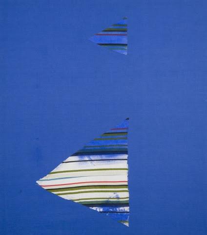 , 'Blue painting,' 2009, Nathalie Karg Gallery