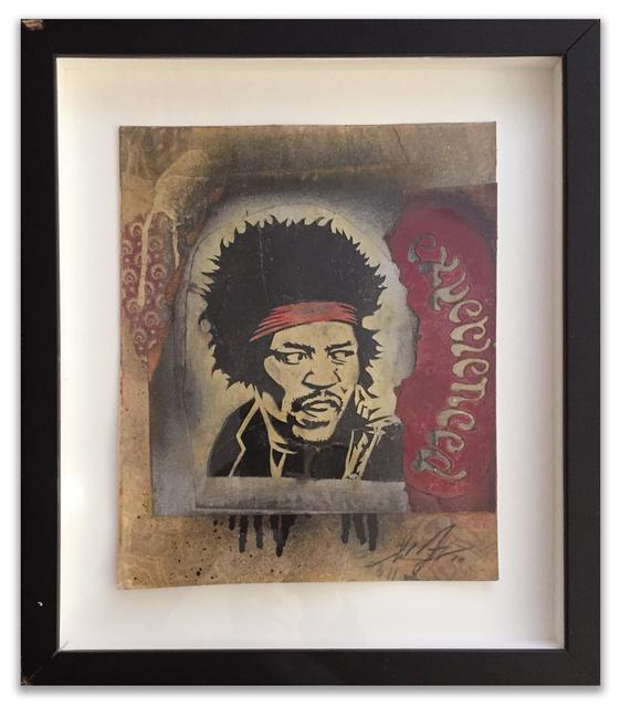 Shepard Fairey, 'Hendrix Experience', 2010, Dirtypilot.com/Hobbs Gallery