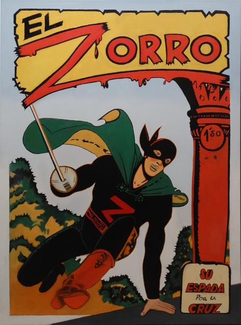 , 'El Zorro,' 2017, Galerie Ernst Hilger