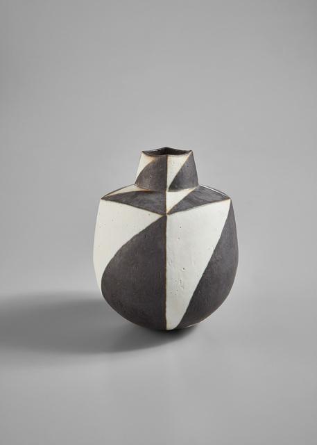 """John Ward, '""""Black and White Vessel""""', circa 1995, Phillips"""