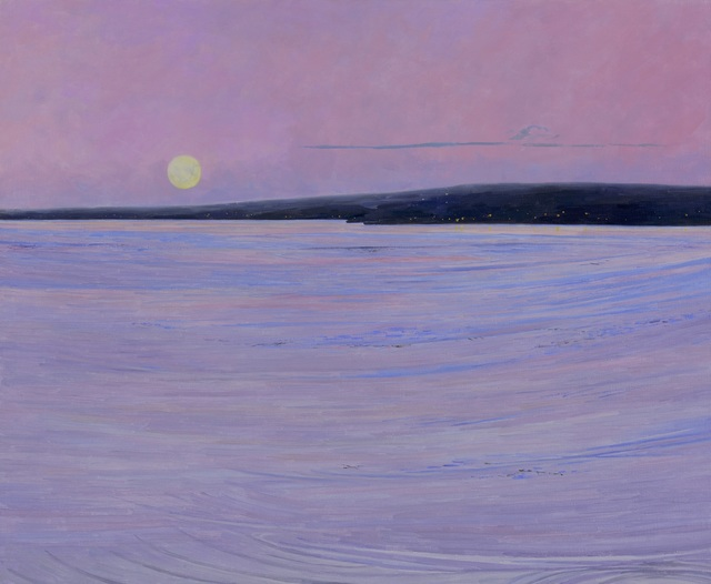 , 'Full Moon Rising,' 2019, Charles Nodrum Gallery