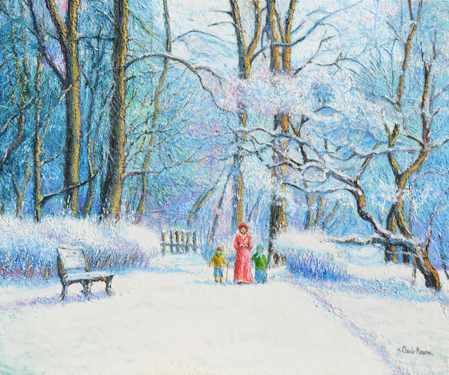 Hugues Claude Pissarro, 'Neige au bois Jôdin', ca. 1987, Guarisco Gallery