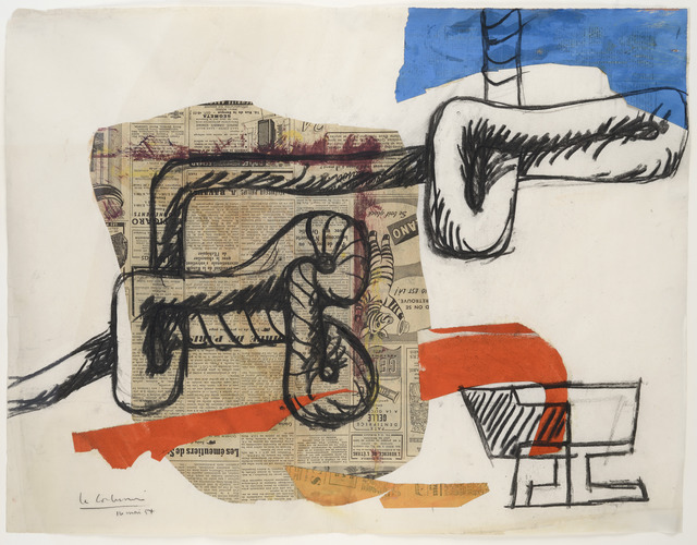 , 'Rope and Glasses,' 1954, Galerie Zlotowski