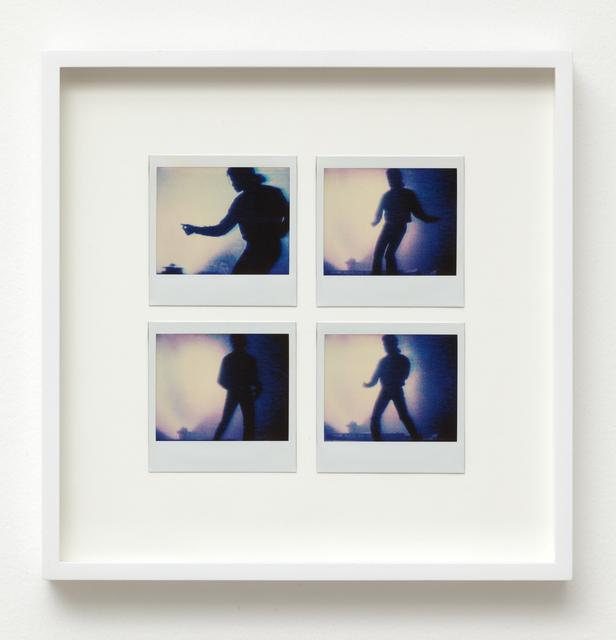, 'Michael Jackson: Four Video Stills on Polaroid,' 1984, Wilkinson