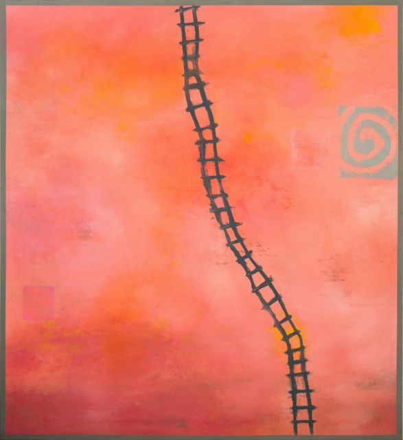 , 'Climb the Ladder,' , ÆRENA Galleries and Gardens