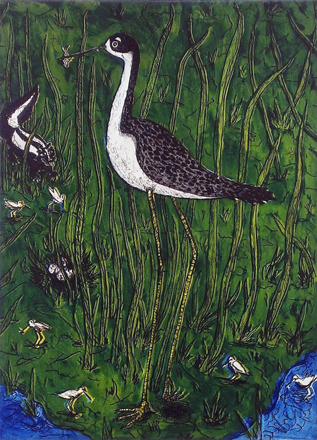 , 'Black-Necked Stilt,' 2014, William Reaves | Sarah Foltz Fine Art