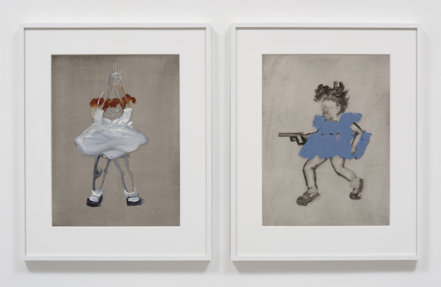 , 'the little girl blue is shooting little girls white,' 2016, Susanne Vielmetter Los Angeles Projects