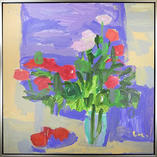 """, 'Roses du Jardin de Maman """"Roses from Mom's Garden"""",' 2018, David Barnett Gallery"""