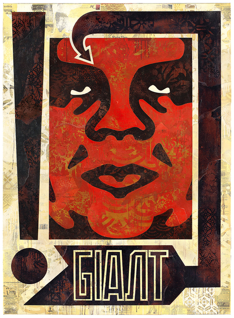 Shepard Fairey, 'Exclamation', 2018, Over the Influence