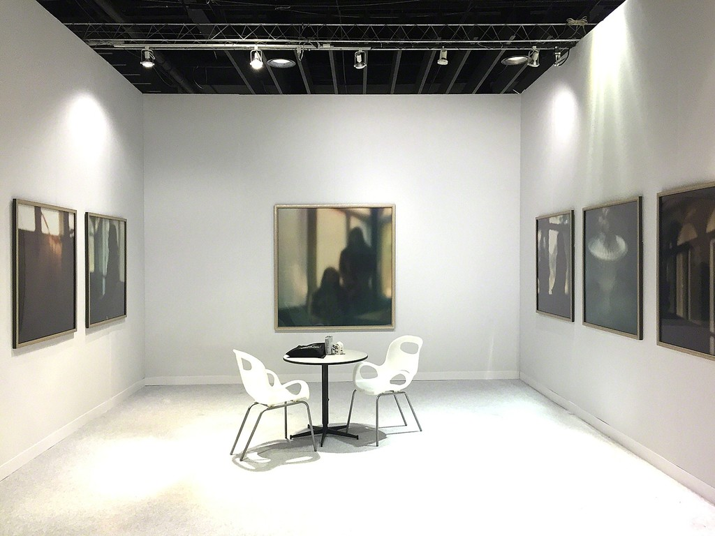 Susan Mikula Installation, Volta NY 2017, George Lawson Gallery