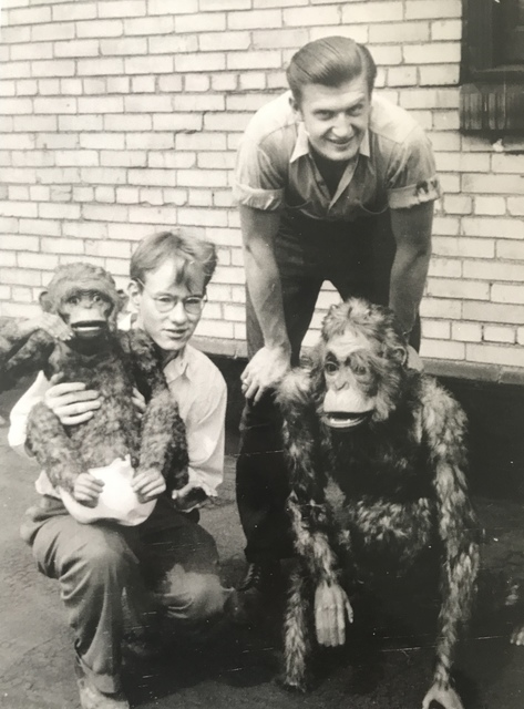 Andy Warhol, 'Andy with Monkeys & Friend', ca. 1948, MultiplesInc Projects