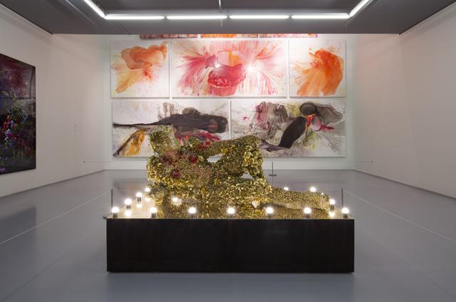 Athi-Patra Ruga, 'Proposed Model for Tseko Simon Nkoli Memorial', 2017, Sculpture, High-density foam, artificial flowers and jewels, Zeitz MOCAA