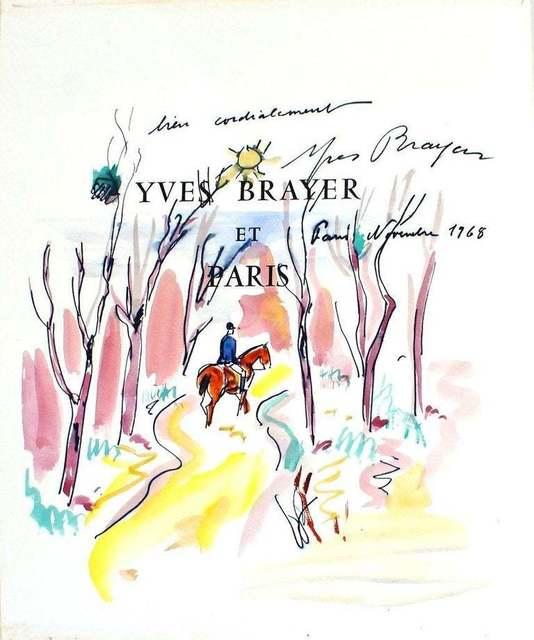 Yves Brayer, 'Chevalier dans le ois', 1968, Wallector