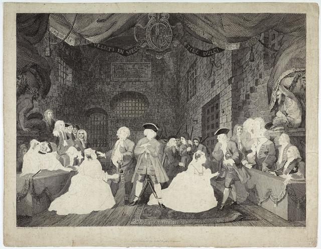 , 'The Beggar's Opera, Act III,' 1788, Emanuel von Baeyer