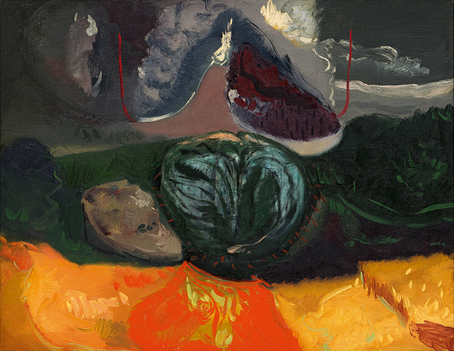 Maurice Cockrill, 'Landscape with Bold Cloud', 1989, Strauss & Co