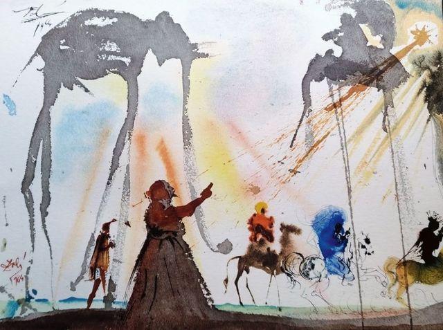 """Salvador Dalí, 'Omnes de Saba venient - From """"Biblia Sacra""""', 1964, Wallector"""