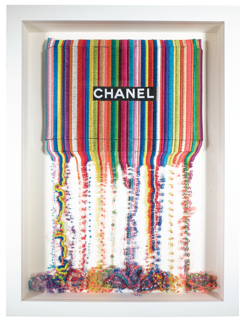 , 'Drip Stitch Chanel,' 2017, New Gallery of Modern Art
