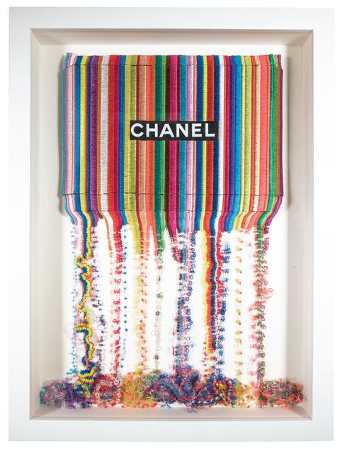 Stephen Wilson, 'Drip Stitch Chanel', 2017, New Gallery of Modern Art