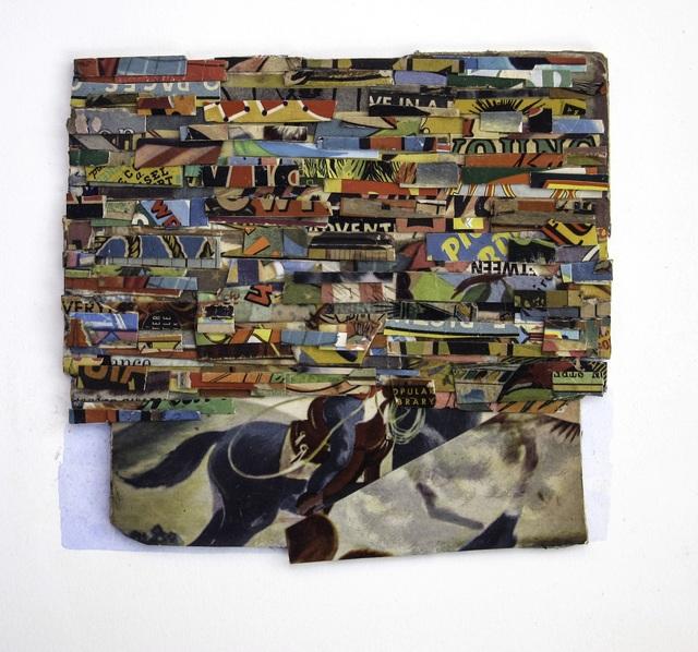 , 'Blue Rider,' 2018, Andrea Schwartz Gallery