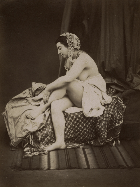 Auguste Belloc, 'Female Nude on Chaise Lounge', 1850s, Contemporary Works/Vintage Works