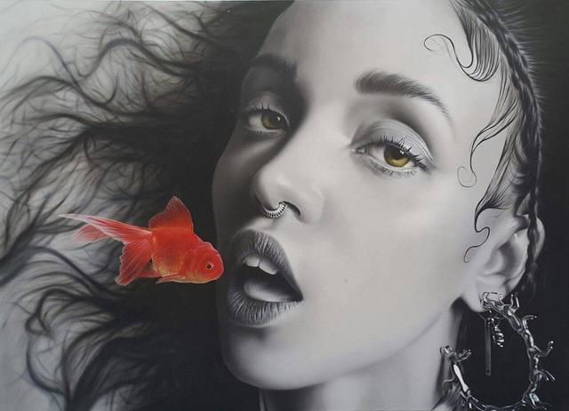 , 'Small Bite (Fka Twigs),' 2015, RED art Istanbul