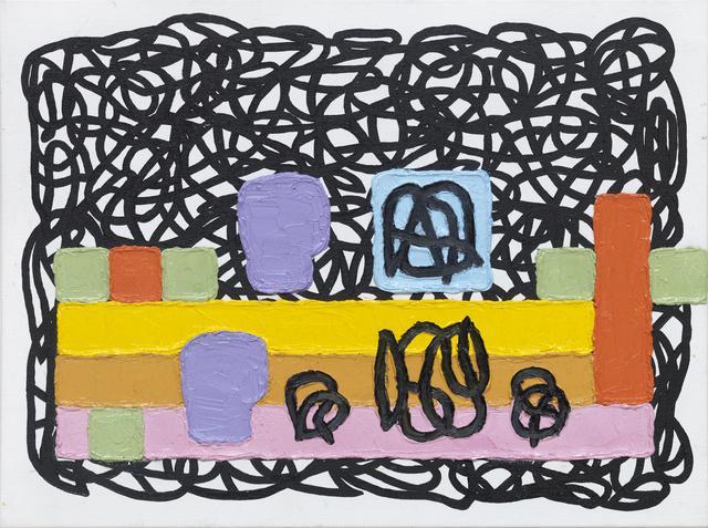 Jonathan Lasker, 'Competitive Identities', 2017, Bohman-Knäpper