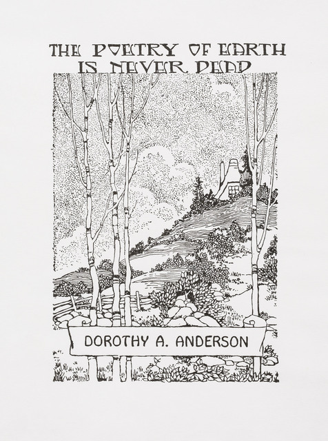 """Charles LeDray, '""""The Poetry of Earth is Never Dead"""" Dorothy A. Anderson ', 2018, Peter Freeman, Inc."""