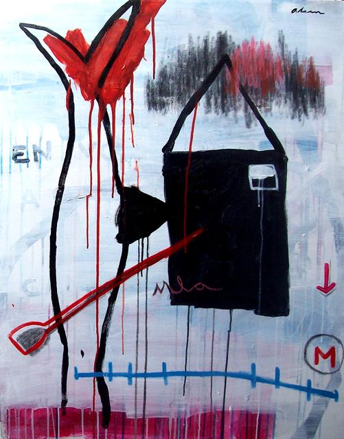 Alain Jiménez Santana, 'Black, Black, Black, No. 1 (La Duda)', 2019, Thomas Nickles Project
