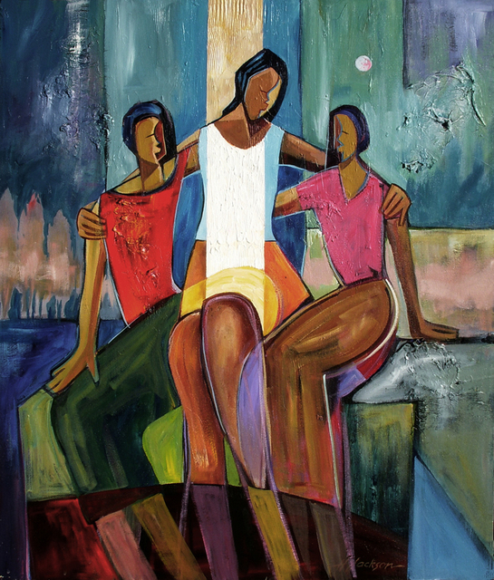 , 'Mother and Daughters,' , Zenith Gallery