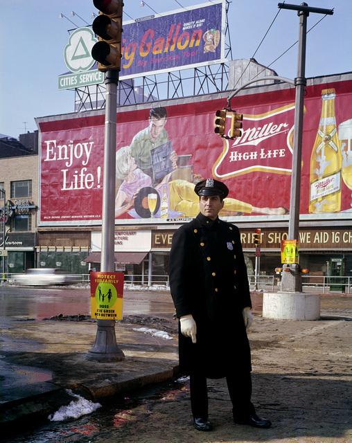 , 'Policeman, 59th Street, New York,' 1964, Danziger Gallery