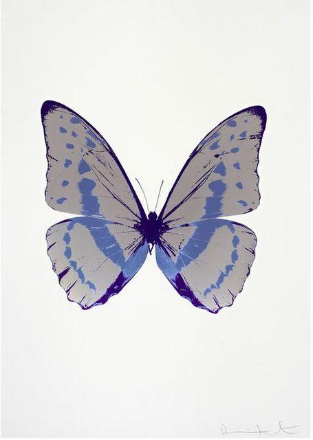 , 'The Souls III - Silver Gloss - Cornflower Blue - Imperial Purple,' 2010, Samuel Owen Gallery