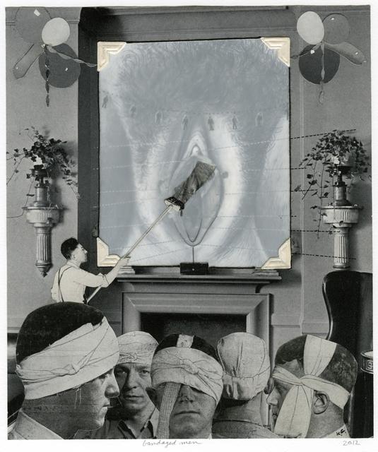 , 'bandaged men,' 2006, ROSEGALLERY