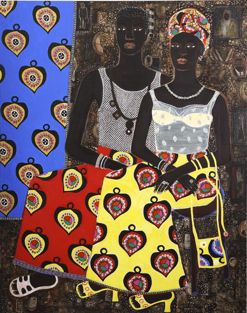 Carla Kranendonk, 'Couple in balance', 2012, Rebecca Hossack Art Gallery