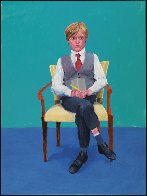 "David Hockney, '""Rufus Hale, 23rd, 24th, 25th November 2015"" from ""82 Portraits and  1 Still-Life""', 2015, Guggenheim Museum Bilbao"