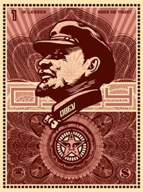 Shepard Fairey (OBEY), 'Lenin Money', 2003, Gregg Shienbaum Fine Art