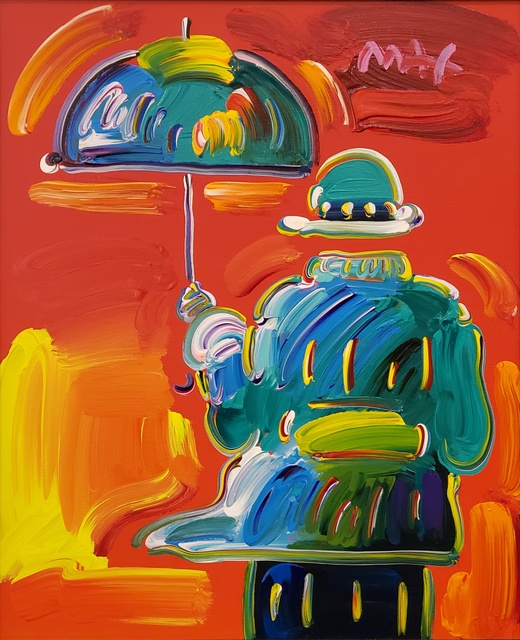 Peter Max, 'Umbrella Man on Blend ', 2014, Off The Wall Gallery