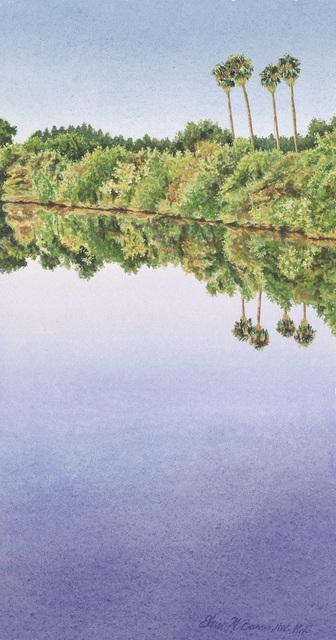 Elaine Bowers, 'Delta Palms', Sparrow Gallery