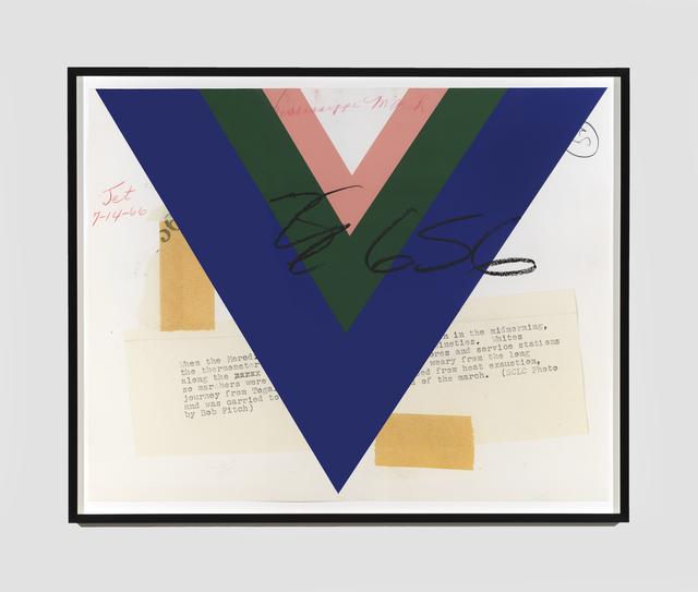 , 'Kitsch Italian Design on the Backs of Blacks,' 2018, Richard Gray Gallery