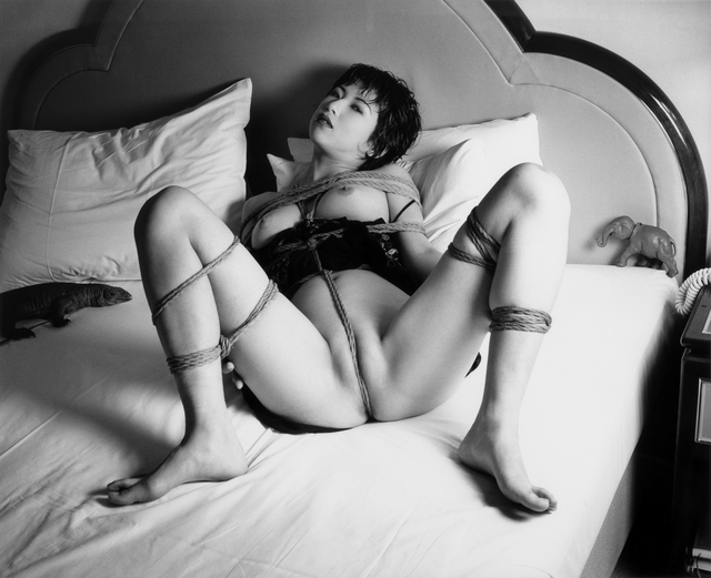 Nobuyoshi Araki, 'Tokyo Comedy', 1997, Photography, B/W print, Galerie Andrea Caratsch