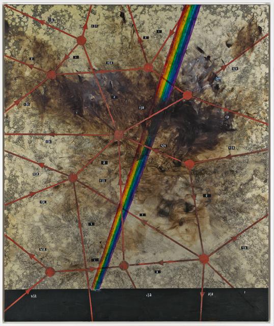 , 'A.O.: Rainbow through LoopQuantum Gravity,' 2016, Galerie Krinzinger