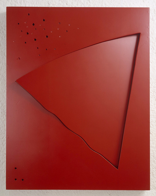 , 'The Oblique 3 (Red),' 1998, Annely Juda Fine Art