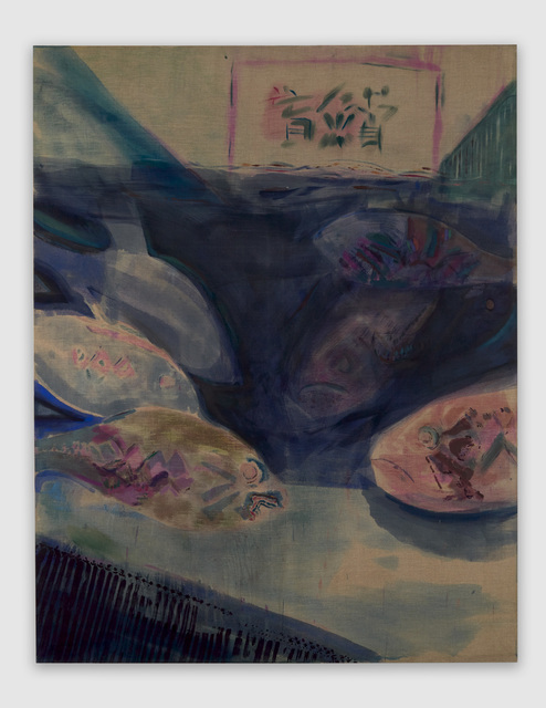 , 'Striped Bass,' 2017, Josh Lilley