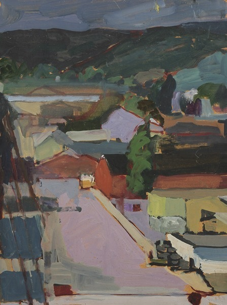 , 'View from Holy Cross Church, Santa Cruz I,' 1985, Dolby Chadwick Gallery
