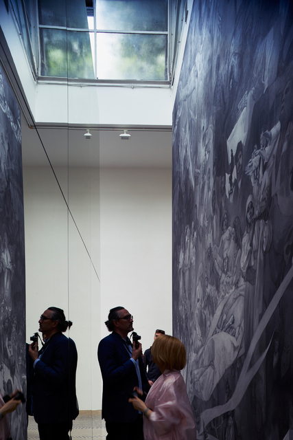 Jiří David, 'Apotheosis (Installation view)', 2015, 56th Venice Biennale