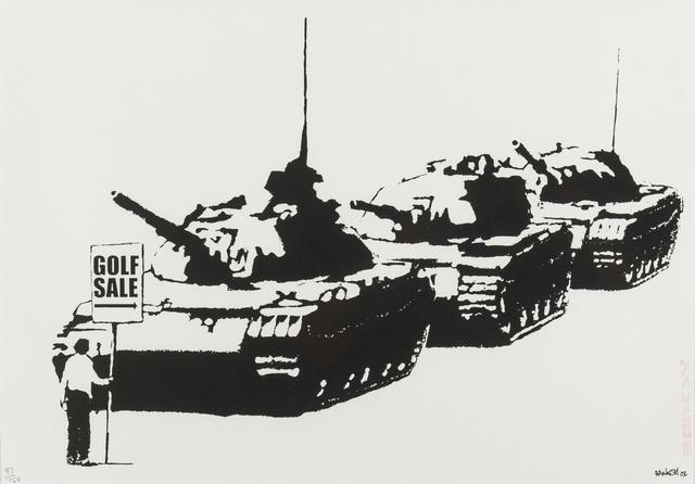 Banksy, 'Golf Sale', 2003, Forum Auctions