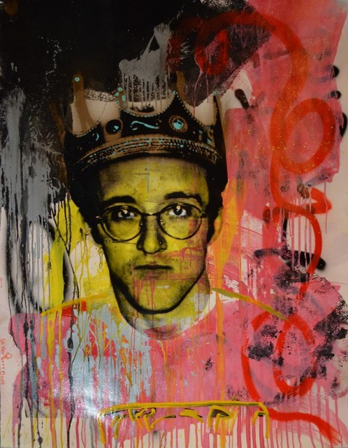 Skyler Grey, 'King Haring (Yellow Face)', 2014, Avant Gallery