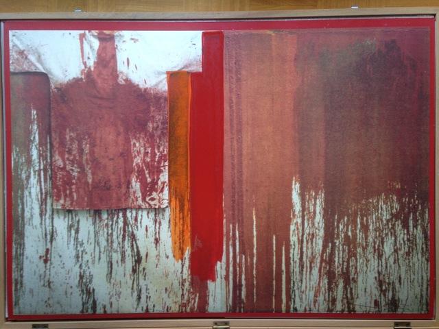 Hermann Nitsch, 'Ubermalte Bild Lithographien', 1991, Glenda Cinquegrana Art Consulting