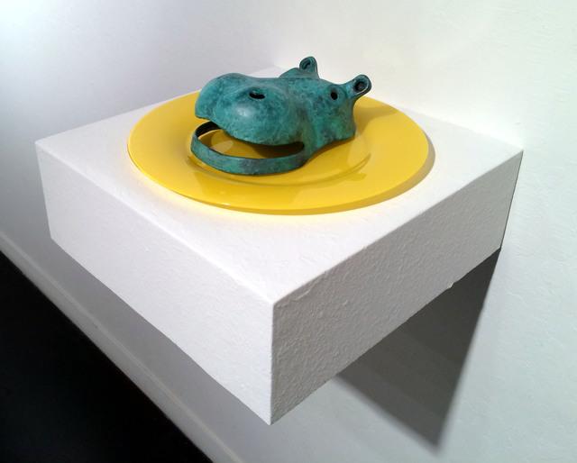 , 'Hippo Plate,' 2015, JAYJAY